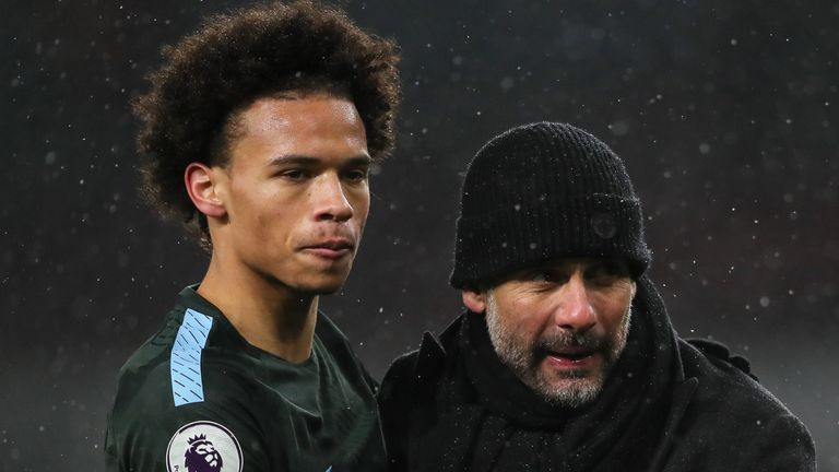 Pep Guardiola says Leroy Sane is joining a fantastic club
