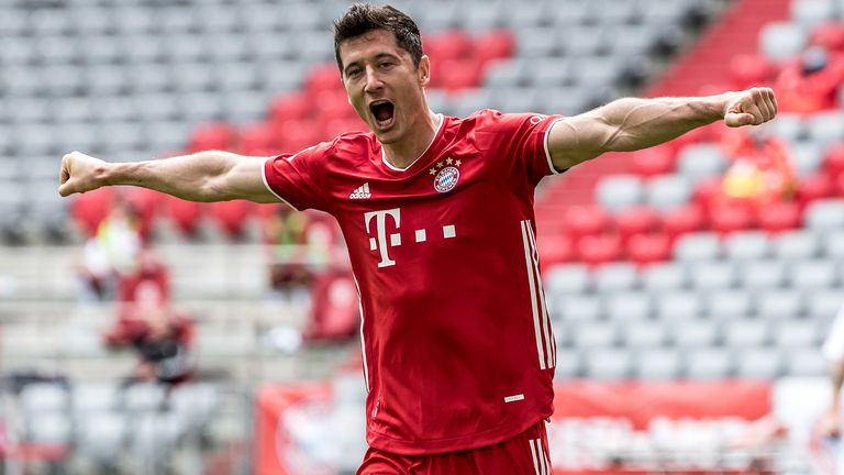Robert Lewandowski is now the highest-scoring foreign player in Bundesliga history