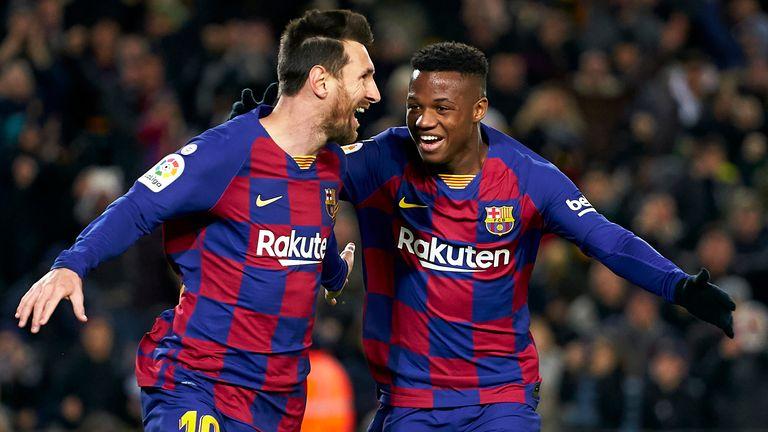 El joven de 17 años ha hecho comparaciones con su compañero Lionel Messi