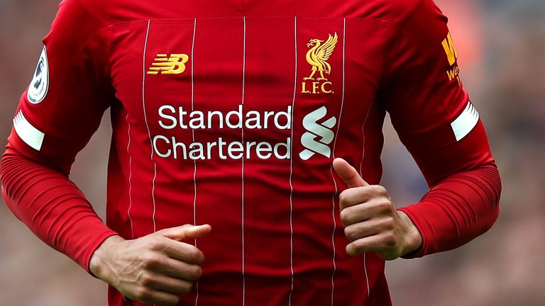 Liverpool's deal with New Balance has been extended until the end of July