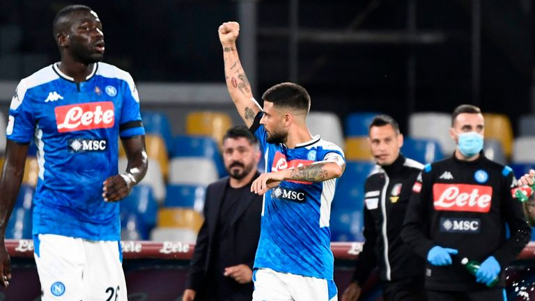Napoli have made it to their first Coppa Italia final since 2014