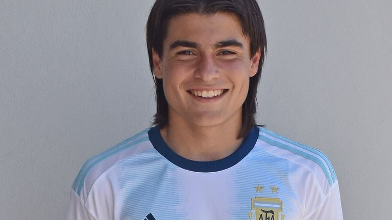 Romero was due to play for Argentina U17s at the 2020 Montaigu Tournament but it was cancelled due to coronavirus