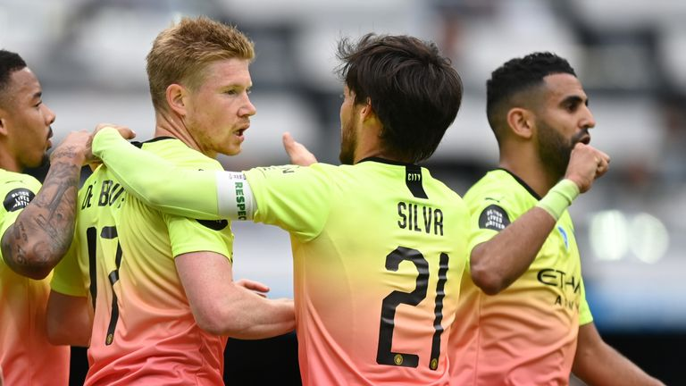 Kevin De Bruyne's penalty gave Man City a deserved lead