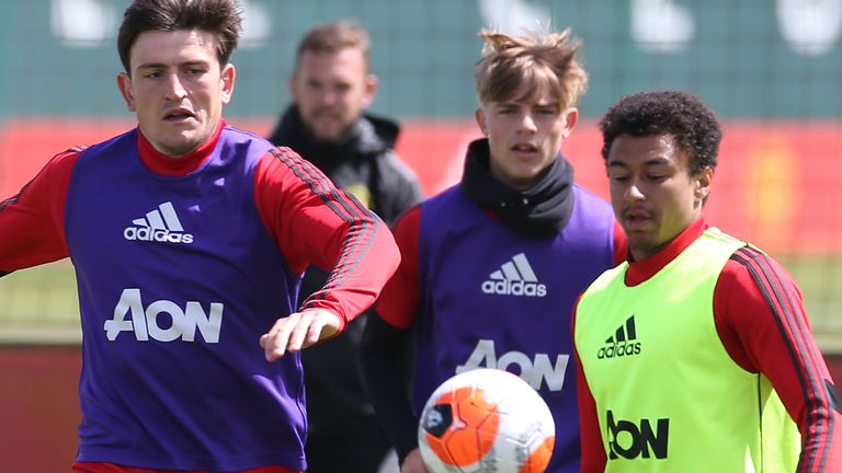 Man United were due to face Championship side Stoke at Carrington