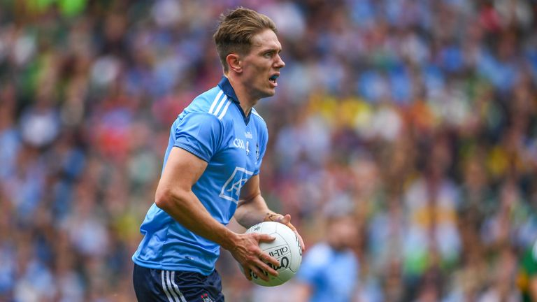 Cuala's Michael Fitzsimons is one of Dublin's go-to man-markers