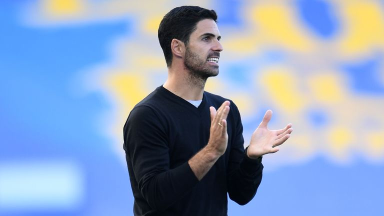 Mikel Arteta's side are in FA Cup action on Sunday