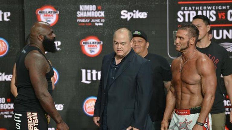 Ken Shamrock Kimbo Slice MMA