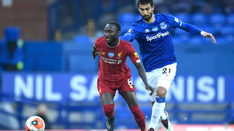 Keita delivered one of the his best Premier League performances in Sunday's 0-0 draw at Everton