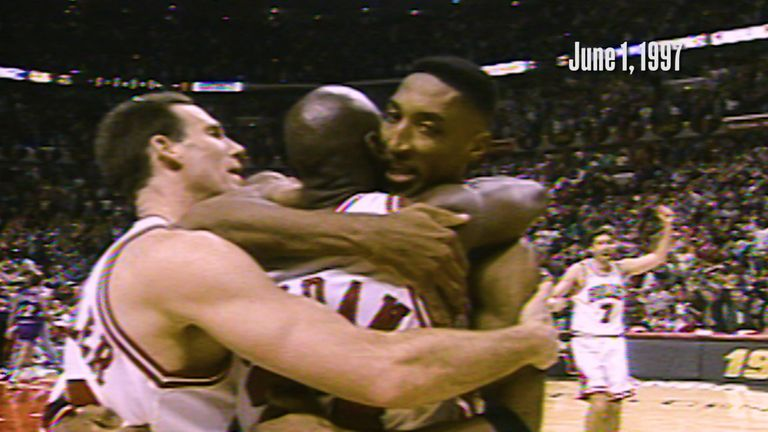 On this day back in 1997, Michael Jordan's brilliant buzzer beater saw the Chicago Bulls win the opening game of the NBA Finals against the Utah Jazz.