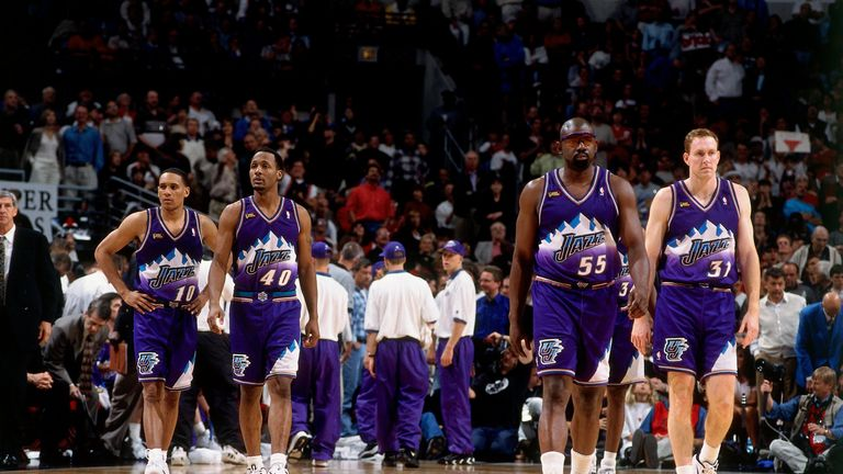 On this day back in 1998, Chicago limited Utah to just 54 points in the most lopsided Finals game ever as the Bulls took a 2-1 lead in the championship series.
