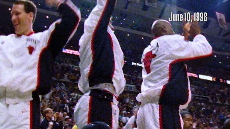 On this day back in 1998, Chicago beat the Utah Jazz to go 3-1 ahead in the NBA Finals as the Bulls moved within one win of their second three-peat.
