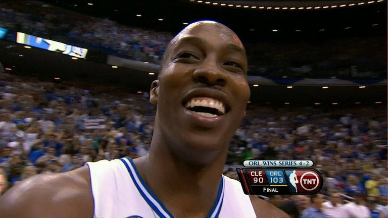 Relive Dwight Howard's heroic 40-point performance as the Orlando Magic beat LeBron James' Cleveland Cavaliers to reach the 2009 NBA Finals.