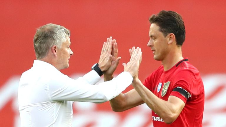 Matic has been in great form for United, who are aiming to secure a top-four finish this season