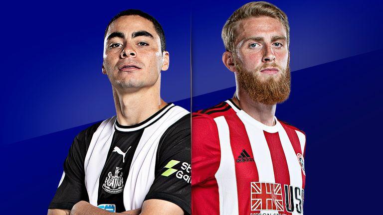 Watch Newcastle vs Sheff Utd live on Sky