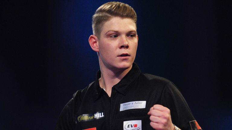 Nico Kurz is one of the rising stars of German darts