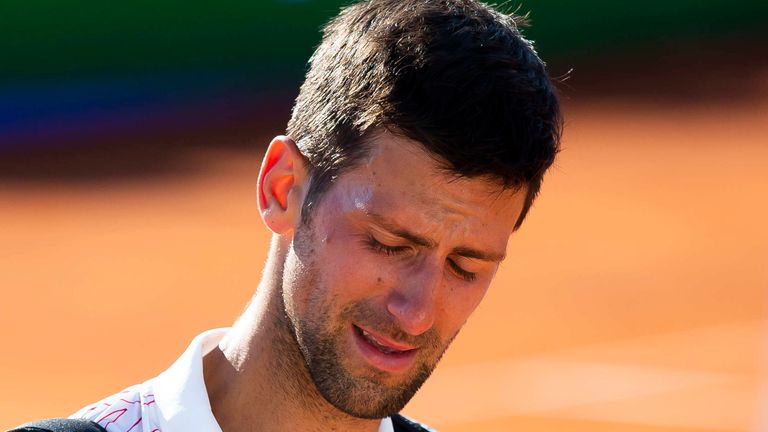 Novak Djokovic In Tears During Charity Event He Hosted In Serbia Tennis News Sky Sports