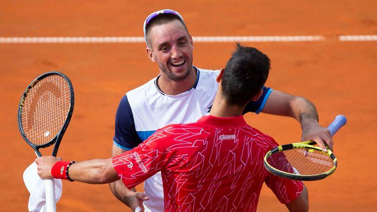 Novak Djokovic Among The Winners At His Charity Event In Belgrade Tennis News Sky Sports