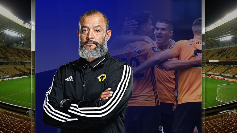 Nuno Espirito Santo has Wolves chasing Champions League qualification