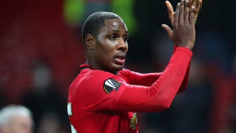 Manchester United have agreed a deal to keep Odion Ighalo until January 2021