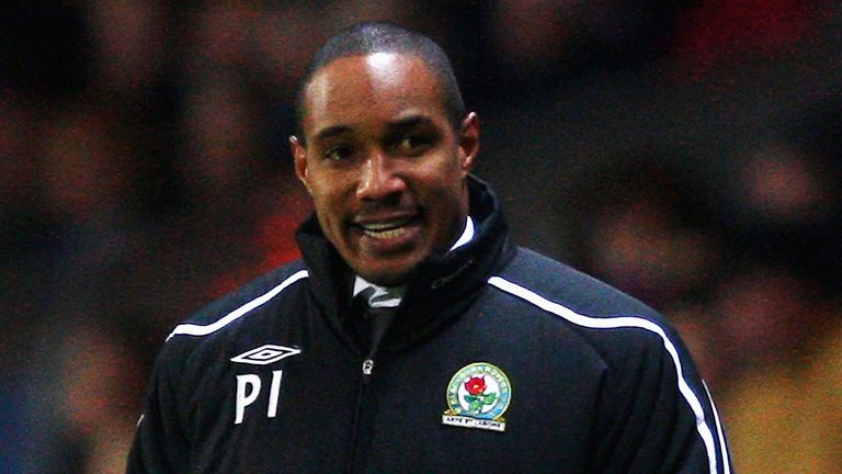 Paul Ince during a match between Blackburn Rovers and Liverpool at Ewood Park on December 6, 2008