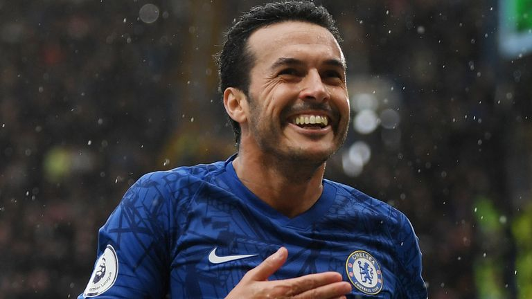 Pedro has won three major trophies since signing for Chelsea in 2015