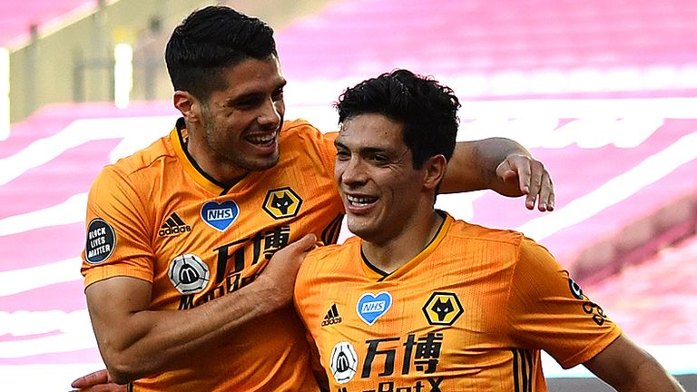 Raul Jimenez is the star man at Wolves but Neto has huge potential