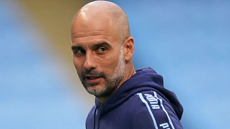 Pep Guardiola says Liverpool deserve their guard of honour from Man City