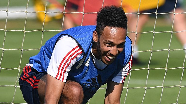 Pierre-Emerick Aubameyang has been linked with a move away from Arsenal