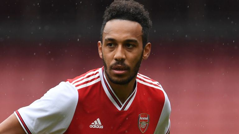 Pierre-Emerick Aubameyang is yet to make a decision over his Arsenal future