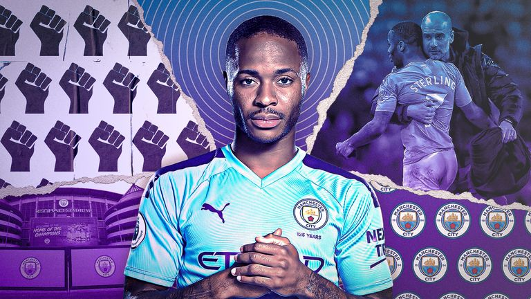 Raheem Sterling has spoken about how the anti-racism movement can change football and society