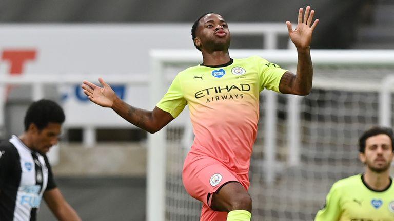Raheem Sterling doubled City's advantage