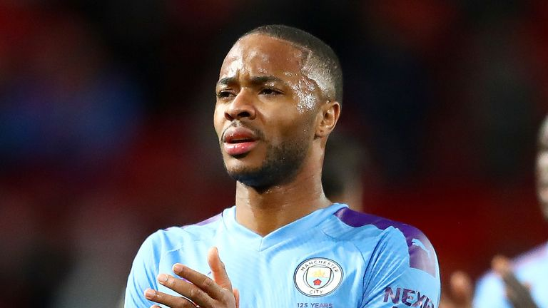 Manchester City's Raheem Sterling has backed the campaign for racial justice