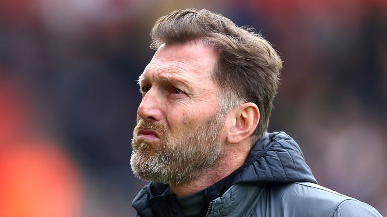 Ralph Hasenhuttl was left frustrated by Southampton's performance against Arsenal