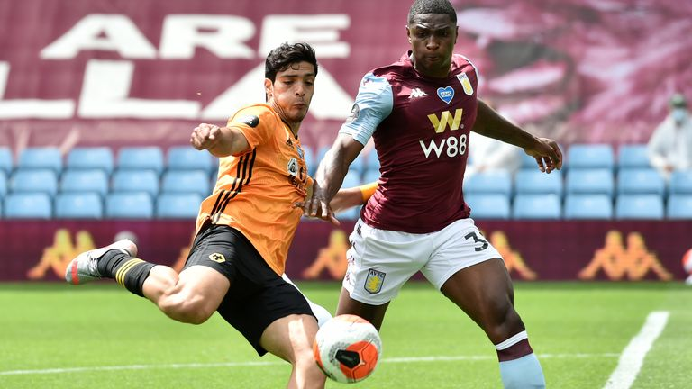 Aston Villa were beaten by Wolves in their last game but Dean Smith remains confident they can avoid the drop