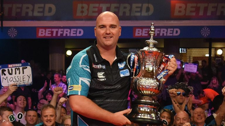Rob Cross will be looking to defend his title next month
