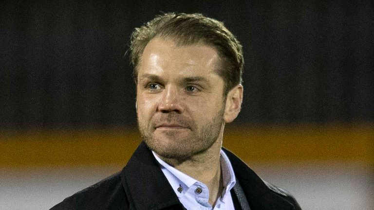Robbie Neilson left Dundee United to return to Hearts