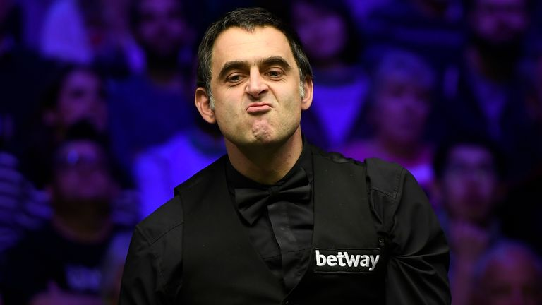 Ronnie O'Sullivan has also been critical of the move to allow a limited audience in Sheffield