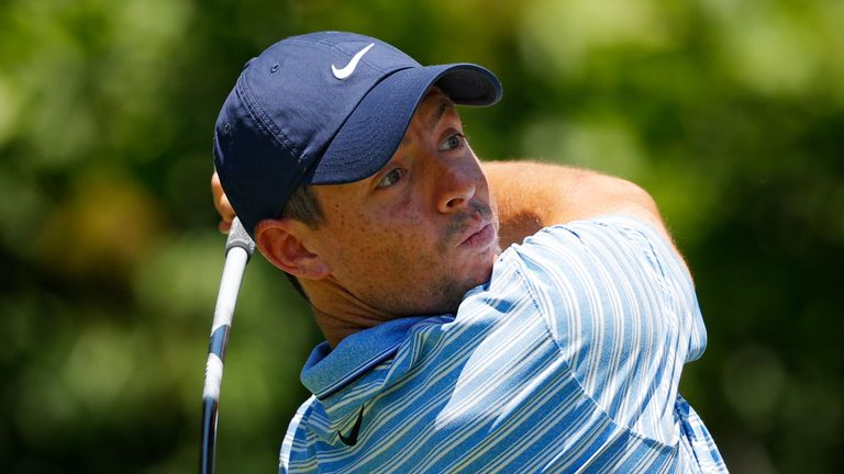 Rory McIlroy is only three shots back going into the final round