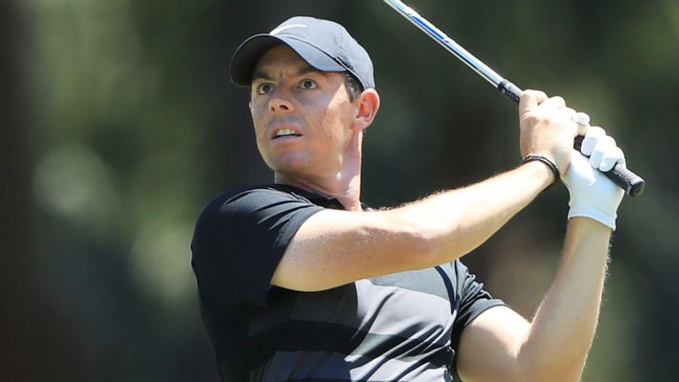 Rory McIlroy revealed he wasn't one of the eleven tested despite his encounter with Watney on Friday