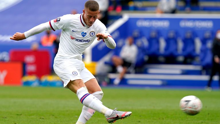 Ross Barkley made a big impact as a second half substitute
