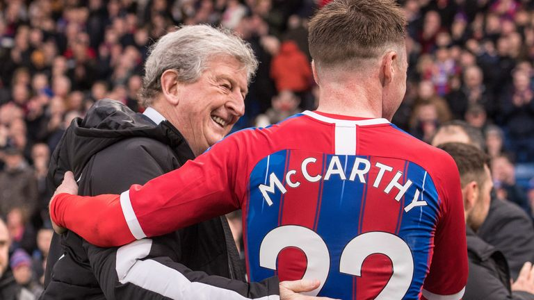 Roy Hodgson persuaded Crystal Palace to sign McCarthy