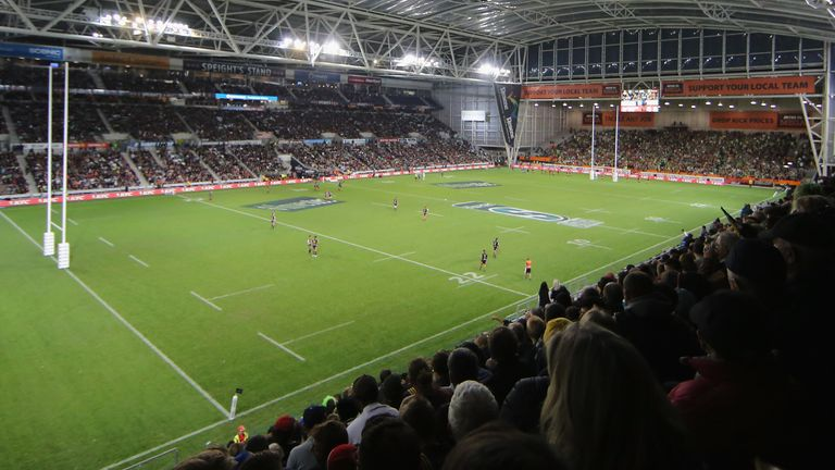A big crowd is expected in Dunedin for the Highlanders' game with the Chiefs