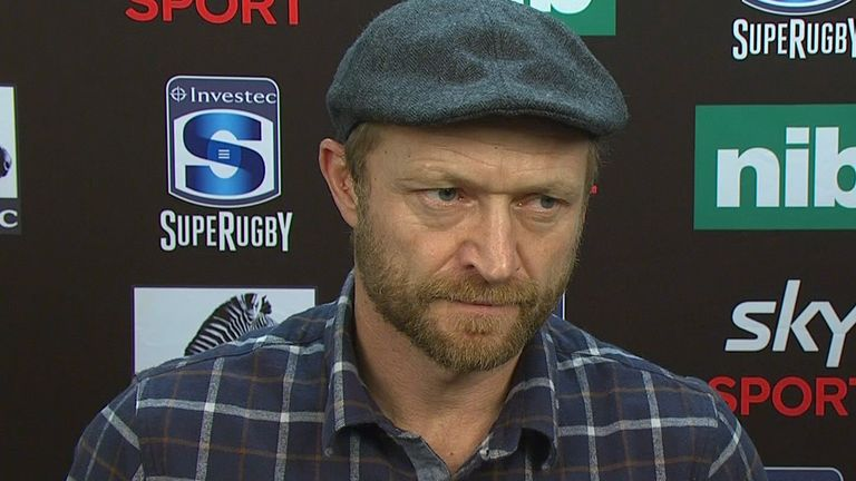 Highlanders assistant coach Tony Brown