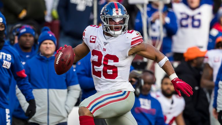 Despite a quiet season, Saquon Barkley will not be overlooked as one of the best backs in the league