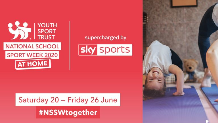 National School Sport Week at Home will take place between June 20 and 26