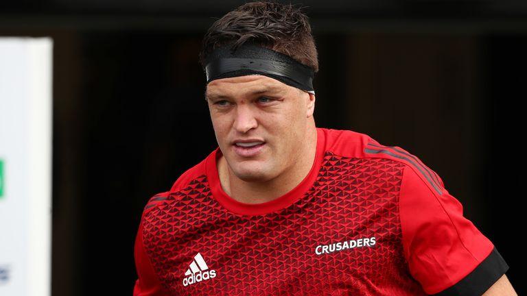 Lock Scott Barrett comes into the side for New Zealand