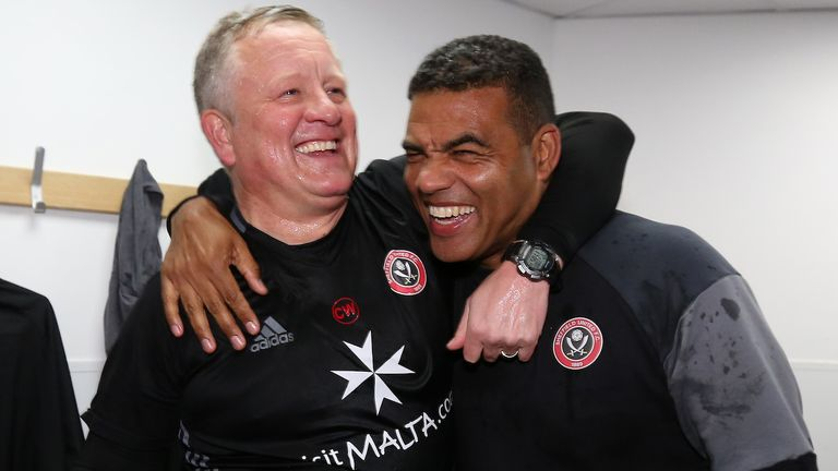 Sylvester has worked with Chris Wilder at Sheffield United. Picture credit: Sportimage