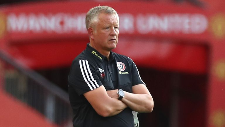 Chris Wilder believes his Sheffield United side showed signs of getting back to their best in the 2-1 FA Cup defeat to Arsenal