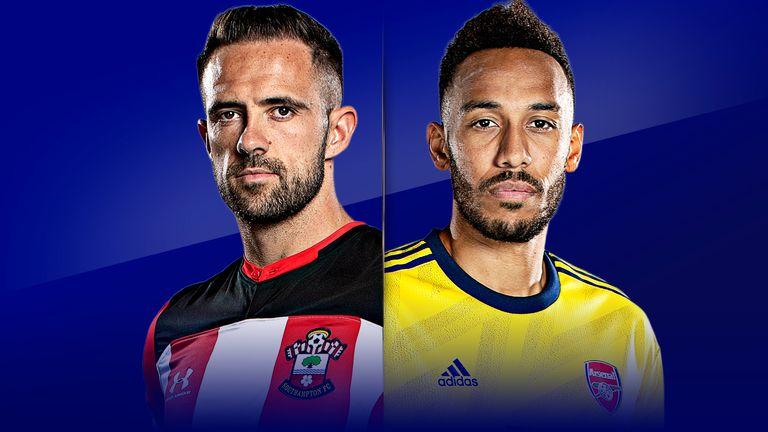 Watch Southampton vs Arsenal live on Sky Sports Premier League and Main Event