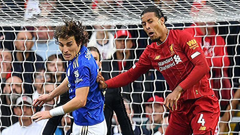 Soyuncu says Van Dijk is the best centre-back in the Premier League
